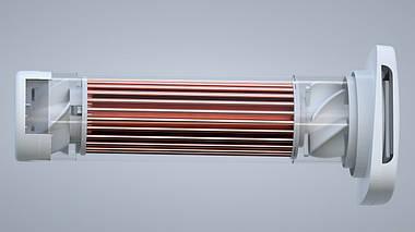 Рекуператор Klimatronik 160 L Basic 20-90 м3/год Черный с белым Klmtrnk-160L-Basic-BLKWHT, фото 3