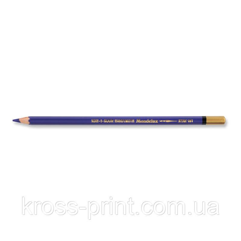 Олівець акварельний MONDELUZ windsor violet 2/фіолетовий