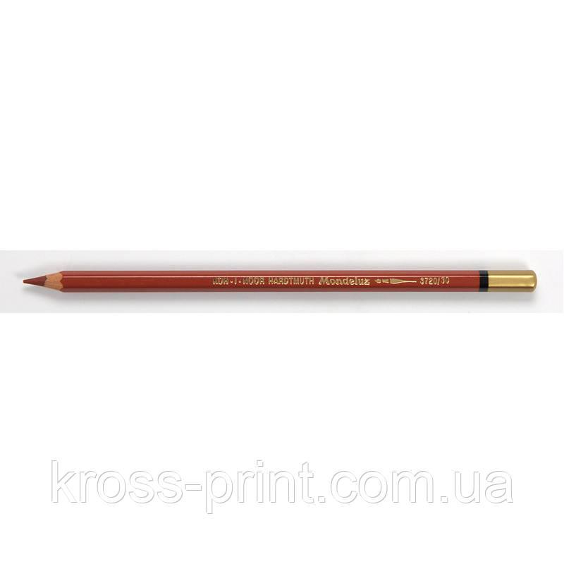 Олівець акварельний MONDELUZ reddish brown/червоно-коричневий