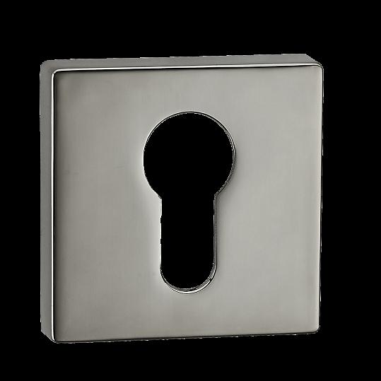 Накладка на цилиндр E1 MVM матовый черный никель
