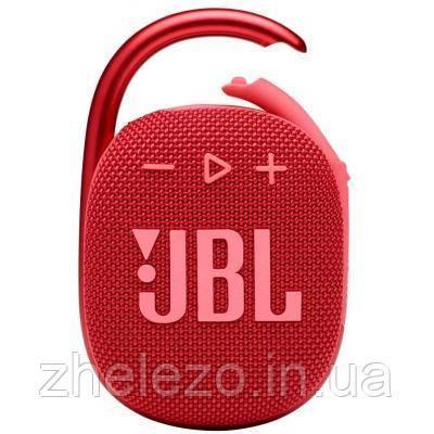 Акустическая система JBL Clip 4 Red (JBLCLIP4RED)