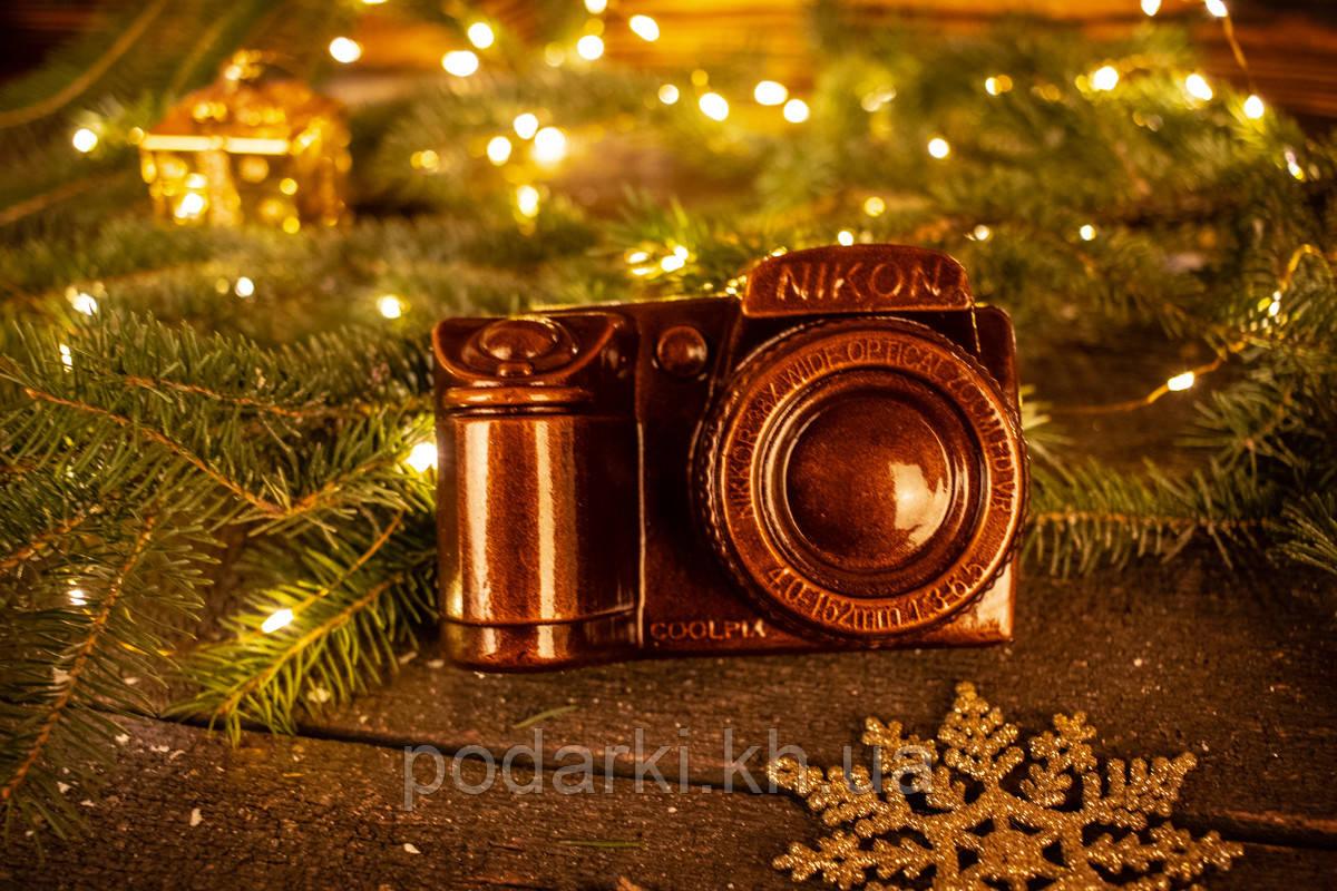 Оригинальный подарок для мужа  Шоколадный фотоаппарат