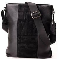 Мужская сумка кожаная Eminsa 6112-12-1 черная