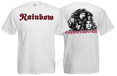 Футболка RAINBOW Long Live Rock'n'roll белая - размер M(48)