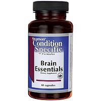 Комплекс для здоровья мозга, 60 капсул, Brain Essentials, Swanson