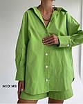 Жіночий костюм, штапель, р-р 42-44; 44-46 (зелений), фото 2
