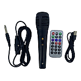 Мощная переносная акустика /колонка 1200W Bluetooth KIMISO QS-220 + микрофон, фото 5
