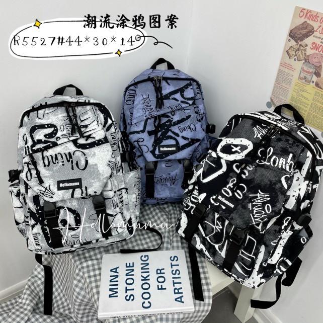 Рюкзак міський модний тканинний принт 44*30 см в різних кольорах Mark