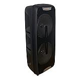 Мощная переносная акустика /колонка 1200W Bluetooth KIMISO QS-220 + микрофон, фото 6