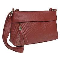 Жіноча шкіряна сумка Keizer K11181-red