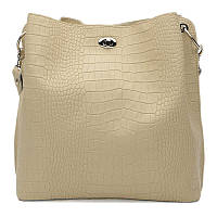 Жіноча шкіряна сумка Ricco Grande 1l981rep-beige