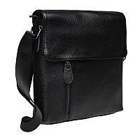 Мужская кожаная сумка Keizer K1238-black