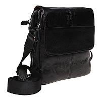 Мужская сумка кожаная Keizer K1B065-black