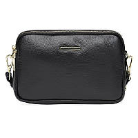 Жіноча шкіряна сумка Borsa Leather K11906-black