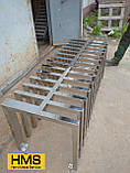 Велопарковка-лавка дизайнерська Bike-bench, фото 4