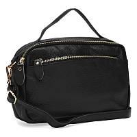 Жіноча шкіряна сумка Keizer K11189-black
