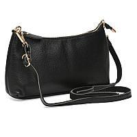 Жіноча шкіряна сумка Keizer k1613-black