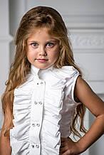 Шкільна сорочка для дівчинки Шкільна форма для дівчаток BAEL Україна ПІВОНІЯ
