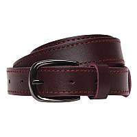 Коричневий шкіряний ремінь Borsa Leather br110vgenw24