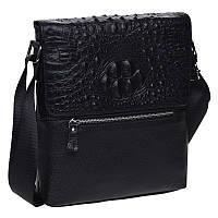 Мужская кожаная сумка Keizer K187013-black