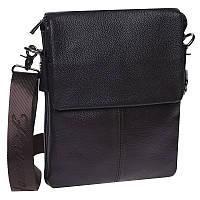 Мужская кожаная сумка Keizer K12055-brown