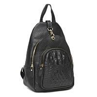 Жіночий шкіряний рюкзак Keizer K1315-black