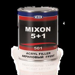 Автомобильный акриловый грунт MIXON 5+1. Серый. 1 л
