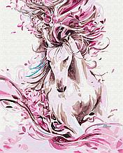 Картина по номерам Изящная лошадь 40*50см Brushme Раскраски Абстракция Лошади
