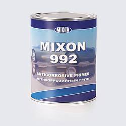Грунт антикоррозийный Mixon 992. Серый.  0,7 л Черный