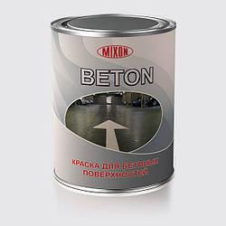 Краска для бетона Mixon Beton. Белая. 0,75 л 3.7 кг