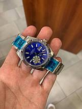 Rolex Datejust Silver-Blue-White, фото 3