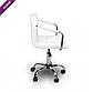 Стул-кресло для мастера ARM MASTER  барное на колёсах БЕЛОЕ ПОЛЬША, фото 2