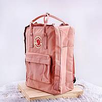 Рюкзаки Fjallraven Kanken. Дитячий рюкзак рожевий Kanken Classic. Портфелі Канкен шкільні для підлітків 16л