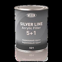 Акриловый грунт Silver Line Mixon 5+1. Серый. 0,8 л Черный