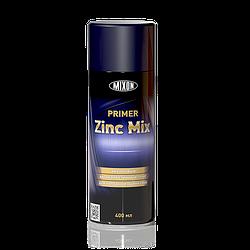 Аэрозольный цинковый грунт Primer Zinc-Mix 989. 400 мл
