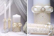 Свадебные свечи Ivory