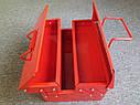 Ящик инструментальный 540мм 3 отсека (ХЗСО) ЯЩ530-3 MTB540-3, фото 3