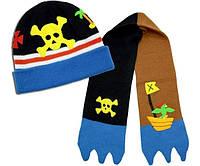 Комплект шапка и шарф Пират Kidorable