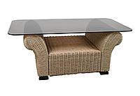"""Стол """"Вирджиния"""". Плетеная мебель из абаки. Цвет под заказ"""
