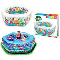 """Детский надувной бассейн Intex 56493 """"Океанский риф"""""""