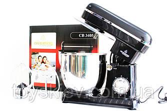Міксер планетарний з чашею Crownberg CB-3405 тістоміс, міксер стаціонарний (2 шт/ящ)