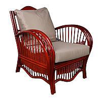 """Кресло """"Нью-Йорк"""". Плетеная мебель из ротанга. Цвет под заказ."""