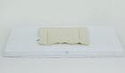 Матрас для детской кроватки, поролон, экологически чистый, чехол - микрофибра, белый, Облачко3, фото 2