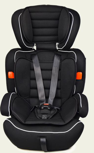 Дитяче крісло для машини зі знімним чохлом JOY AS0111 група 1-3, вага дитини від 9 до 36 кг, (колір чорний)