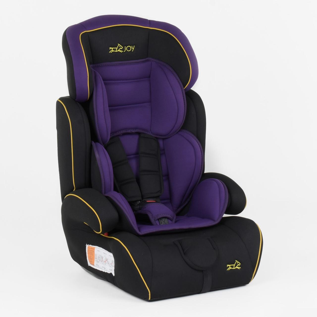 Автомобільне крісло для дітей з нахилом спинки на 180 градусів JOY 8577 BV (вага дитини 9-36 кг)