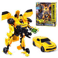 Дитячий Робот-Трансформер Бамблбі для хлопчика 611-26, трансформується в машину і навпаки