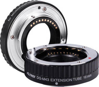 Макрокольца Viltrox автофокусные для фотокамер Olympus и Panasonic (байонет Micro 4/3) DG-M43