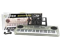 Дитячий орган, синтезатор MQ 6168 для дітей від 6-ти років з мікрофоном і LCD-дисплеєм (61 клавіша)