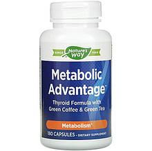 """Комплекс для ускорения метаболизма Nature's Way """"Metabolic Advantage"""" поддержка щитовидной железы (180 капсул)"""