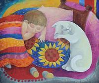 Выставка живописи Оксаны Шапкариной «Пока ты спишь, я расскажу тебе сказку»